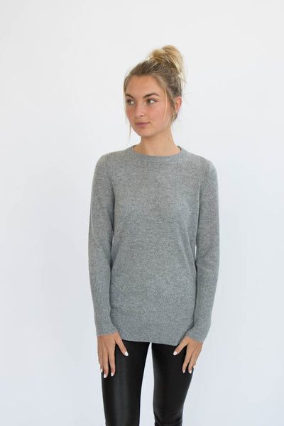 Eleis Collective- The Ribbing Crew - Heather Grey
