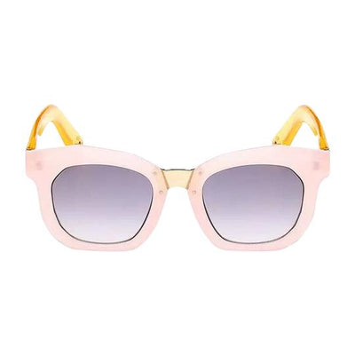 Henny & Coco - Harper Sunglasses in Pink Rims with Gold Temple