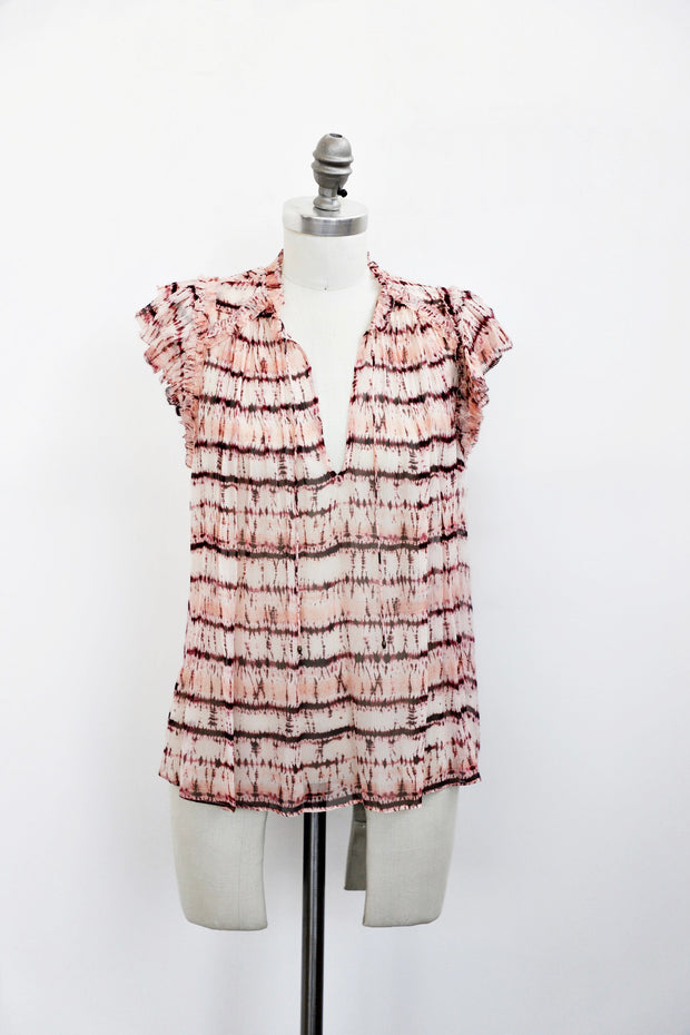 Ulla Johnson - Clea Top in Blush Tie Dye