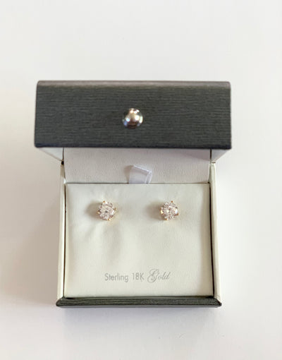 Crislu - Stud Earrings - 1.5 CTTW