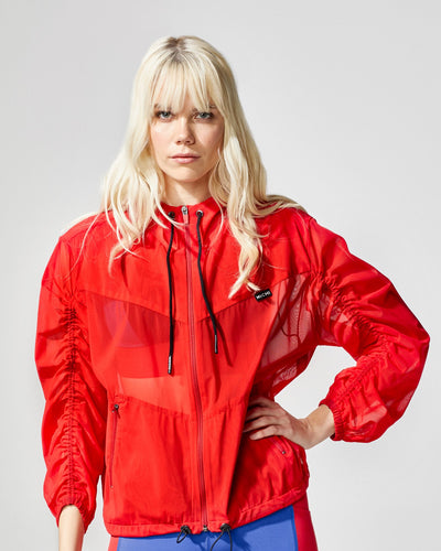 MICHI - Indy Jacket in Fire Red