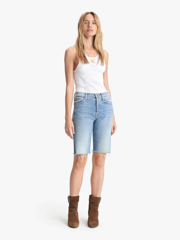 Mother Denim - The Tomcat Bermuda Shorts in Jackpot