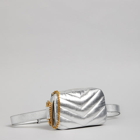 Mackage - Jayme Belt Bag Silver