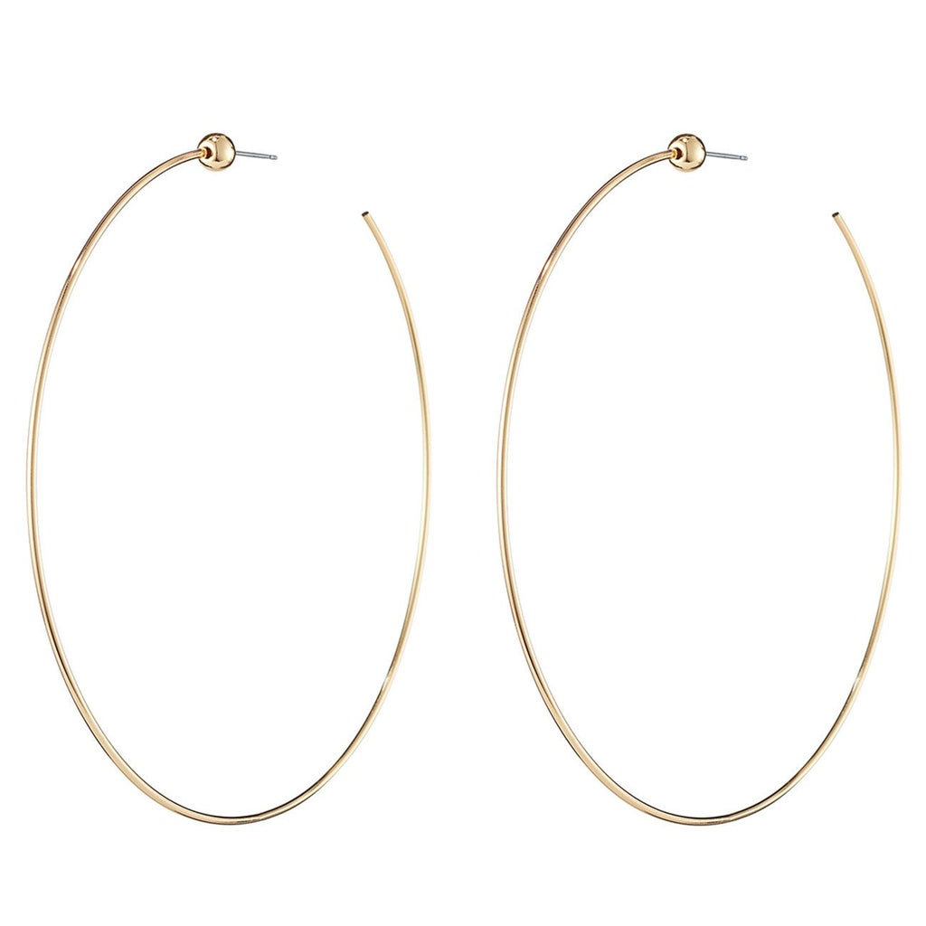 Jenny Bird - Icon Hoops Gold Medium