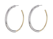 Jenny Bird - Lola Hoops Gold/Rhodium