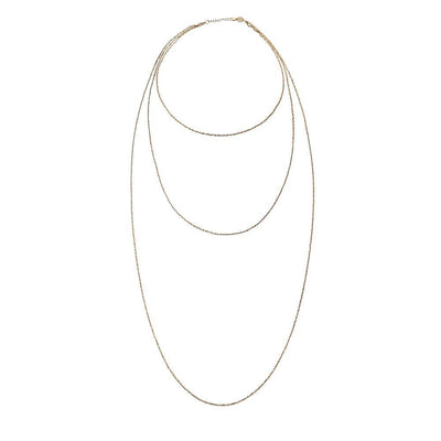 Jennifer Zeuner - Karina Necklace Gold Vermeil