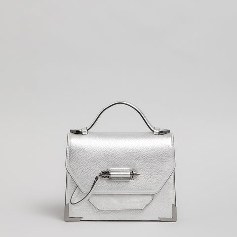 Mackage - Keeley Leather Crossbody Silver
