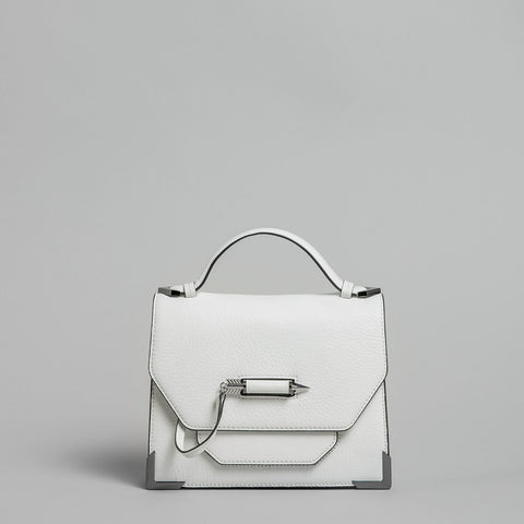 Mackage -  Keeley Leather Crossbody White