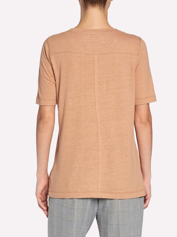 Brochu Walker - Kayden Tee in Camel