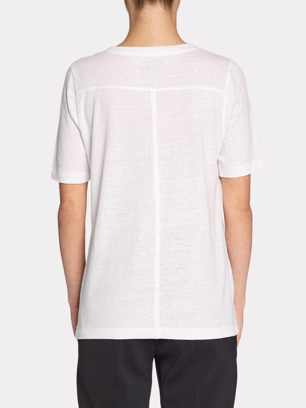 Brochu Walker - Kayden Tee in Salt White