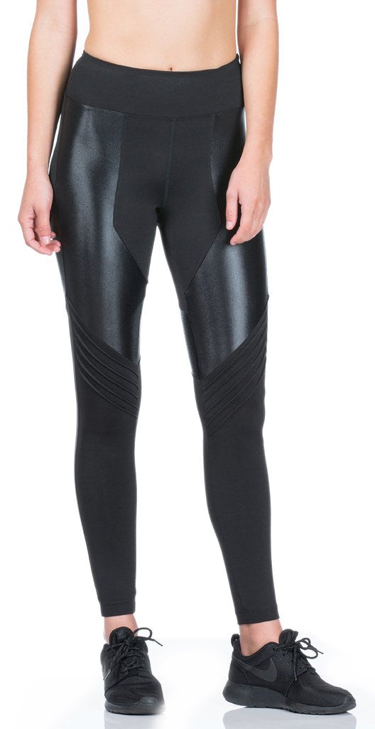Koral Koral - Lateral High Rise Legging Black at Blond Genius - 2