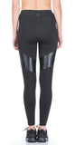 Koral Koral - Lateral High Rise Legging Black at Blond Genius - 3