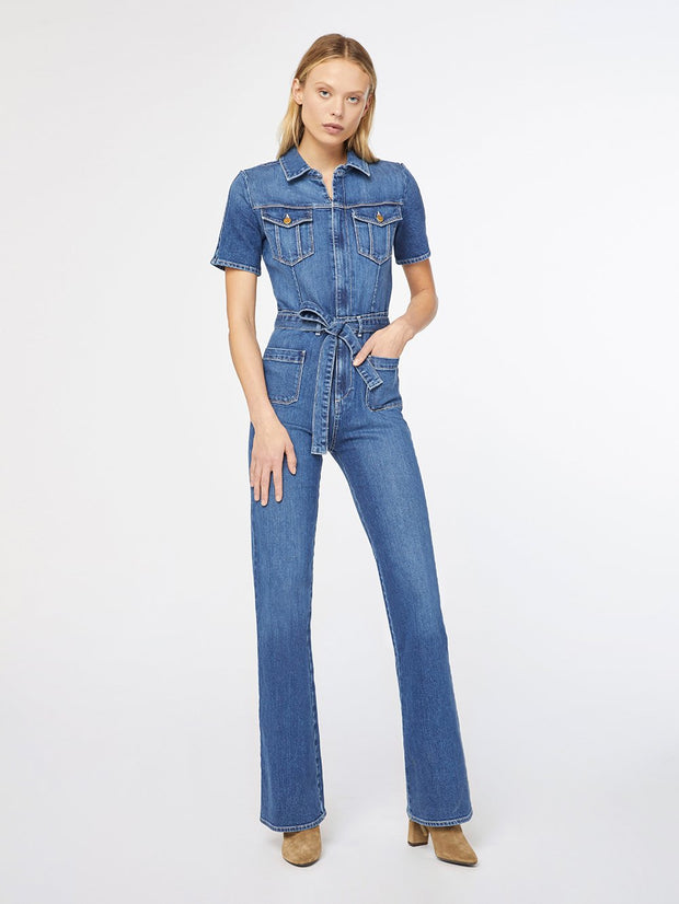 Frame - Le Bardot Jumpsuit in Mantexa