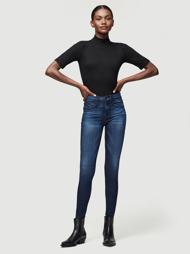 FRAME - Le High Skinny Jeans Disco
