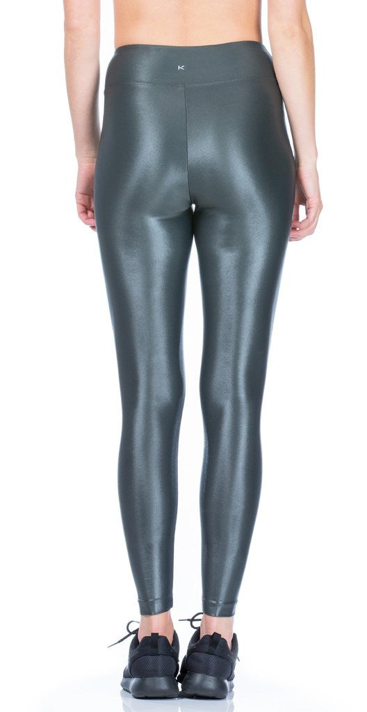 Koral Koral - Lustrous High Rise Legging Gunmetal at Blond Genius - 2
