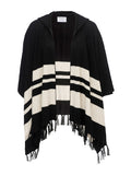 Frame Le Hooded Poncho at Blond Genius