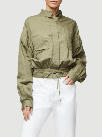 Frame - Double Pocket Jacket Army Green