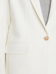 Frame - Boyfriend Blazer in Off White