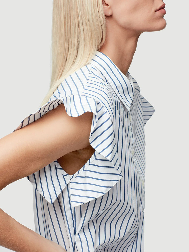 FRAME - Fince Stripe Pop Over