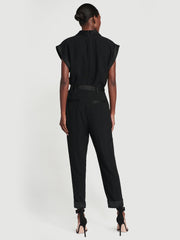 Frame - Tux Jumpsuit in Noir