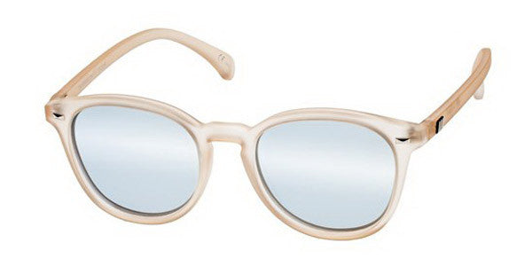 Le Specs Le Specs Bandwagon Raw Sugar / Ice Blue at Blond Genius