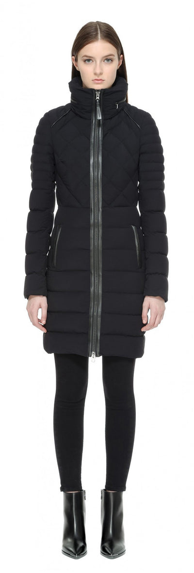 Mackage Mackage- Micah High Collar Coat Black at Blond Genius - 1