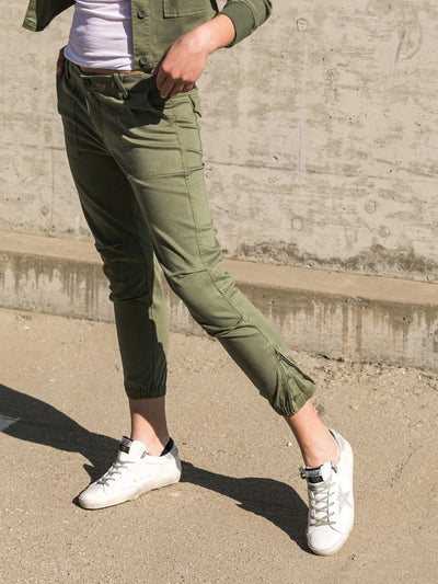 SUNDAYS - Montage Pant in Vintage Army