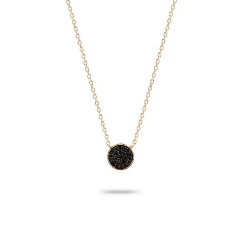 Adina Reyter - Solid Pave Disc Necklace