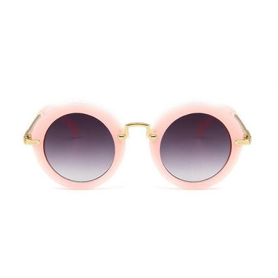 H&C - Rosalie Sunglasses in Pink Round Rims