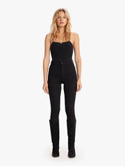 Mother Denim - The Super Swooner Ultra High Rise Jeans in Not Guilty