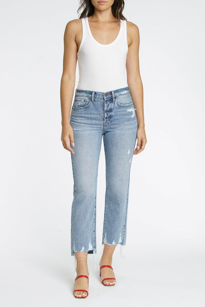 Pistola - Charlie High Rise Jeans in Ruthless