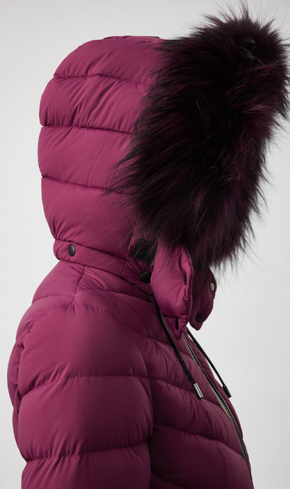 Mackage - Patsy Down Jacket in Berry