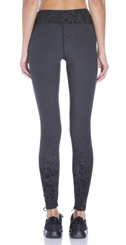 Koral - Pixelate Mid Rise Cropped Leggings