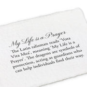 Pyrrha Design Inc. My Life Is a Prayer Necklace at Blond Genius - 2