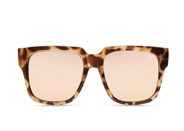QUAY - On The Prowl in Tort/Rose Mirror Lens