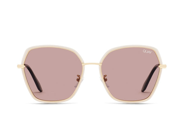 QUAY - Verve Sunglasses in Brown/Brown Lens