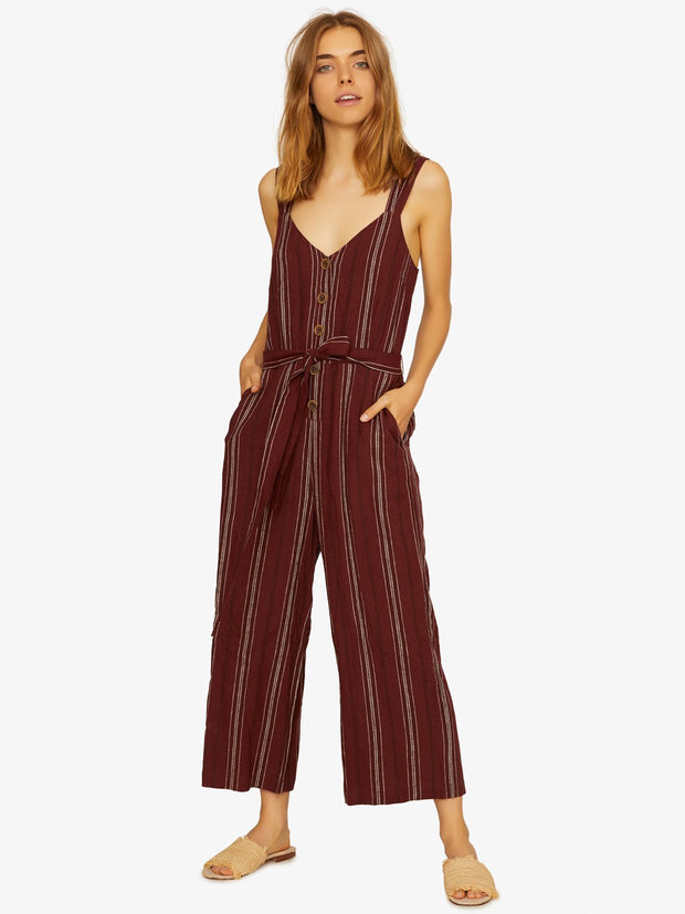 Sanctuary - Sedona Jumpsuit Henna Multi Stripe