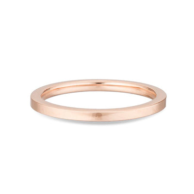 Adina Reyter - Band Ring in Rose Gold