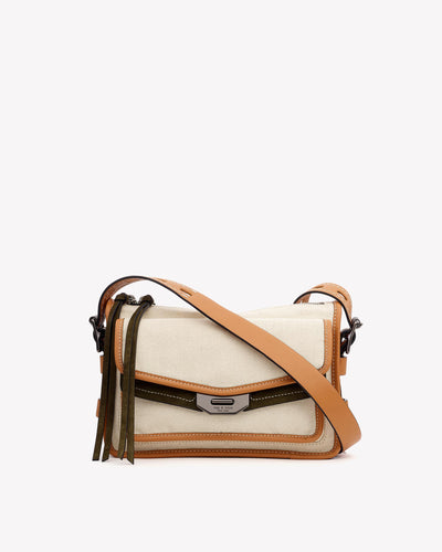 Rag & Bone - Small Field Messenger in Neutral Multi