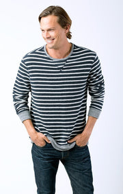 SOL Los Angeles Sol Angeles - STRIPE PULLOVER at Blond Genius - 1