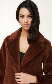 Soia & Kyo - Rubina Wool Coat in Autumn