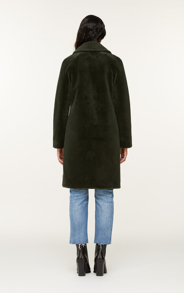 Soia & Kyo - Rubina Wool Coat in Matcha