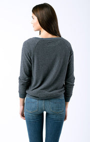 SOL Los Angeles Sol Angeles - MODERN LOVE PULLOVER indigo at Blond Genius - 2