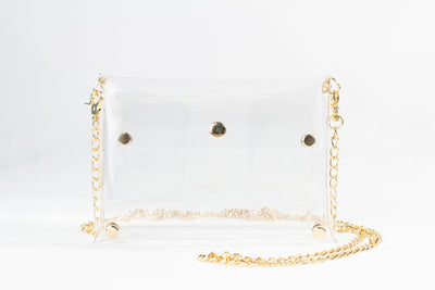 Clearly Handbags - Rainey in Gold