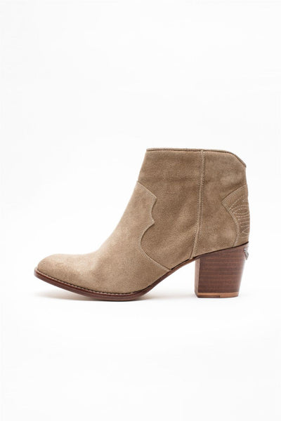 Zadig & Voltaire - Molly Suede Boots Taupe