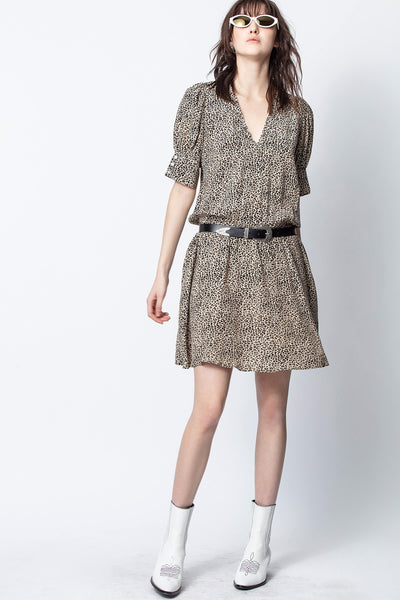 Zadig & Voltaire - Russel Print Dress in Naturel