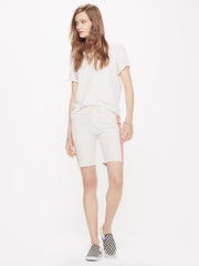 MOTHER - The Vagabond Prep Fray Short Ivory