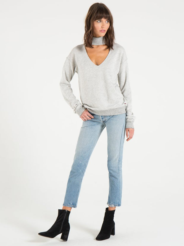 n:Philanthropy - Bae Sweatshirt Heather Grey