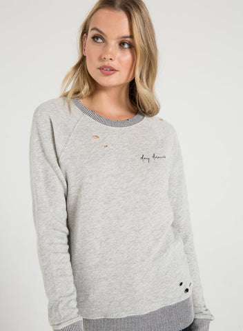PHILANTHROPY - Belize Sweatshirt Heather Grey