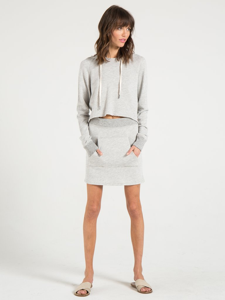 Philanthropy- James Skirt Heather Grey
